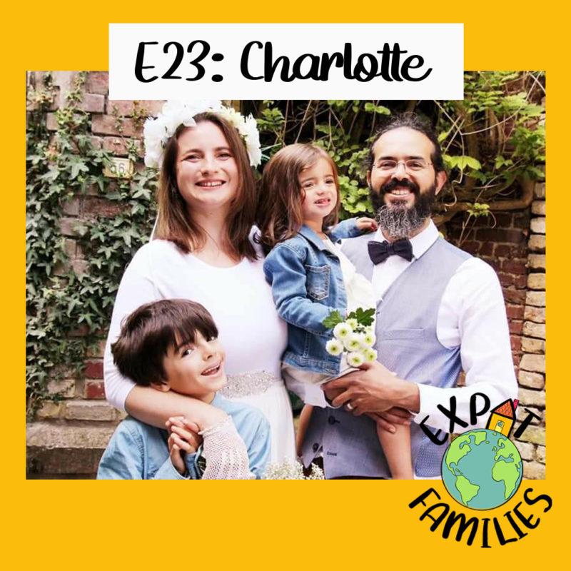 Charlotte famille française entre Inde et Canada