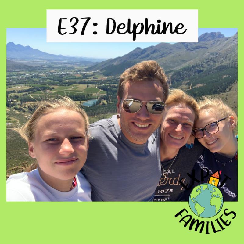 Famille franco-anglaise en Afrique du Sud